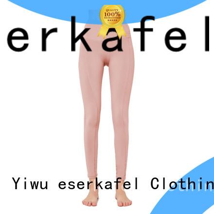 ESERKAFEL 100% quality four needle six thread leggings supplier for sport