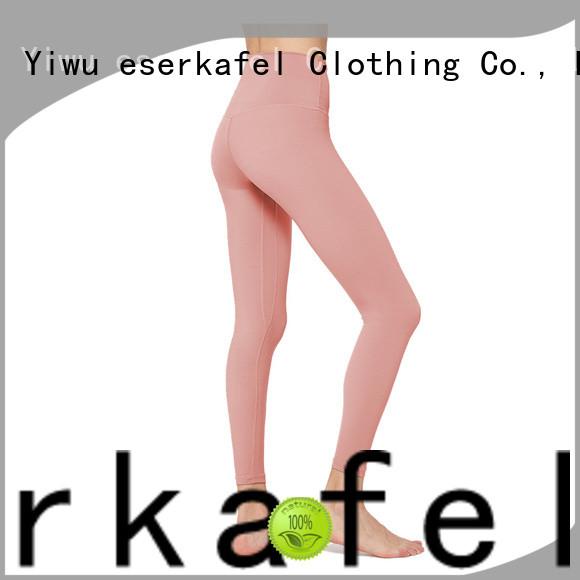 ESERKAFEL four needle six thread leggings wholesale
