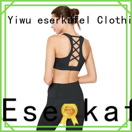 ESERKAFEL best-selling racerback bra wholesale