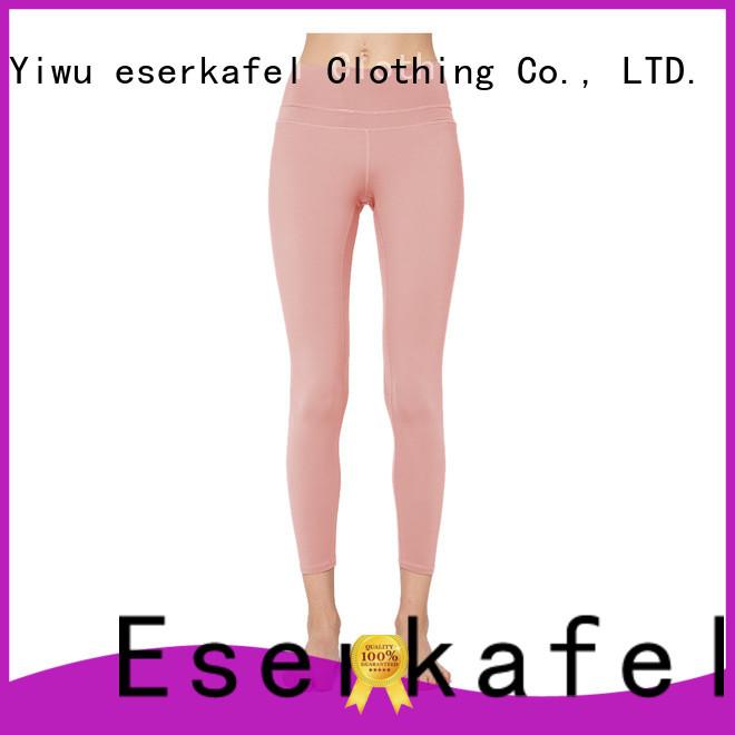 custom four needle six thread leggings supplier for female