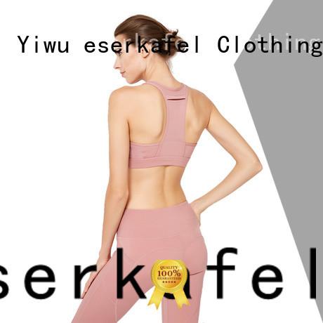 ESERKAFEL compression sports bra factory for female