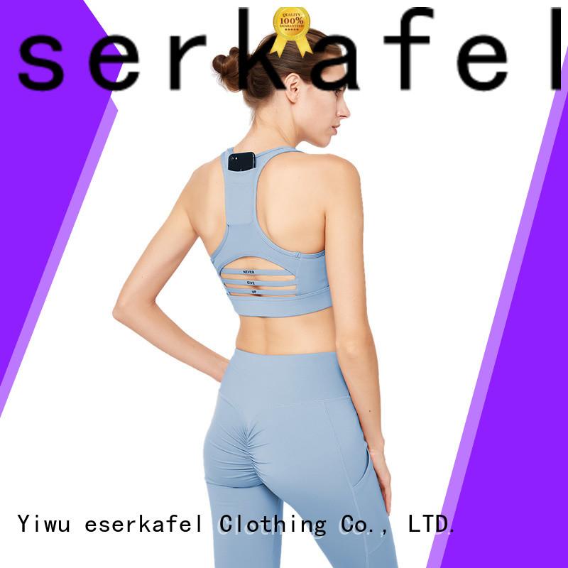 ESERKAFEL adjustable sports bra supplier for female