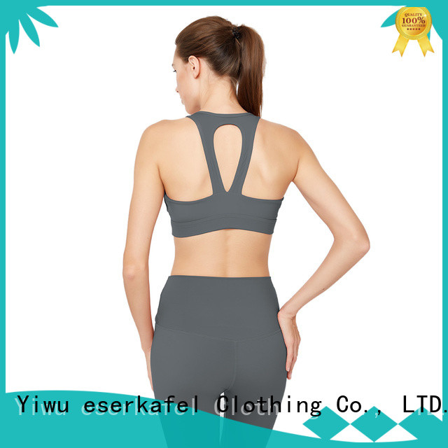 ESERKAFEL crop sports bras manufacturer for women