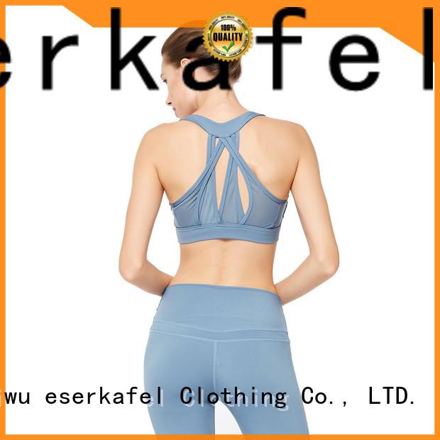ESERKAFEL compression sports bra trader for women