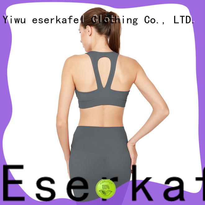 ESERKAFEL custom adjustable sports bra supplier for sport