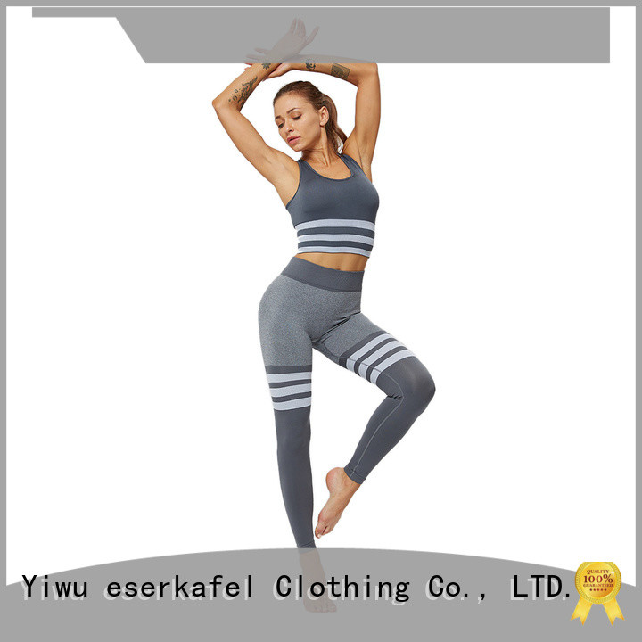 ESERKAFEL 100% quality women's athletic wear manufacturer for women