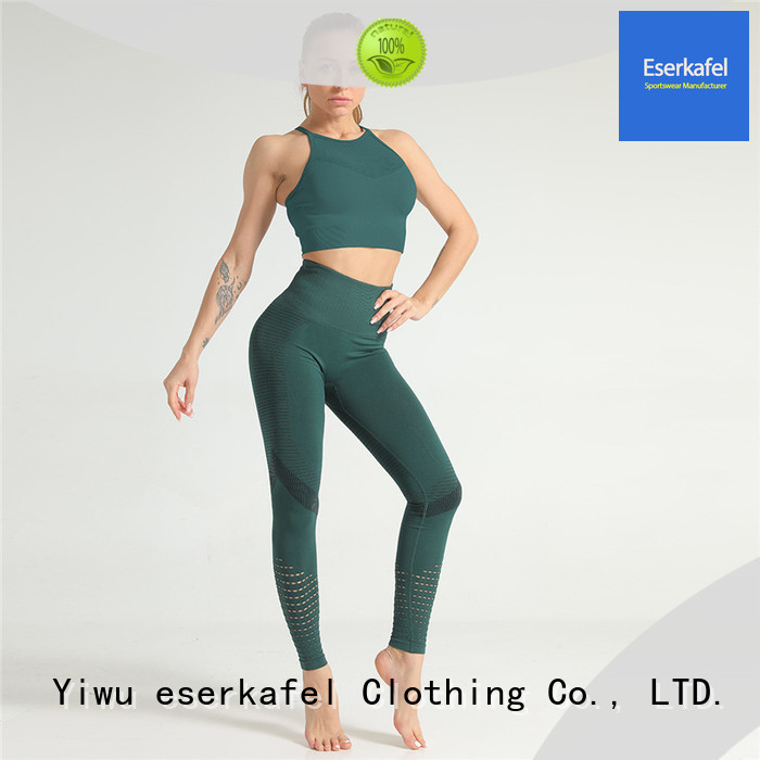 ESERKAFEL 100% quality womens gym wear wholesale for women