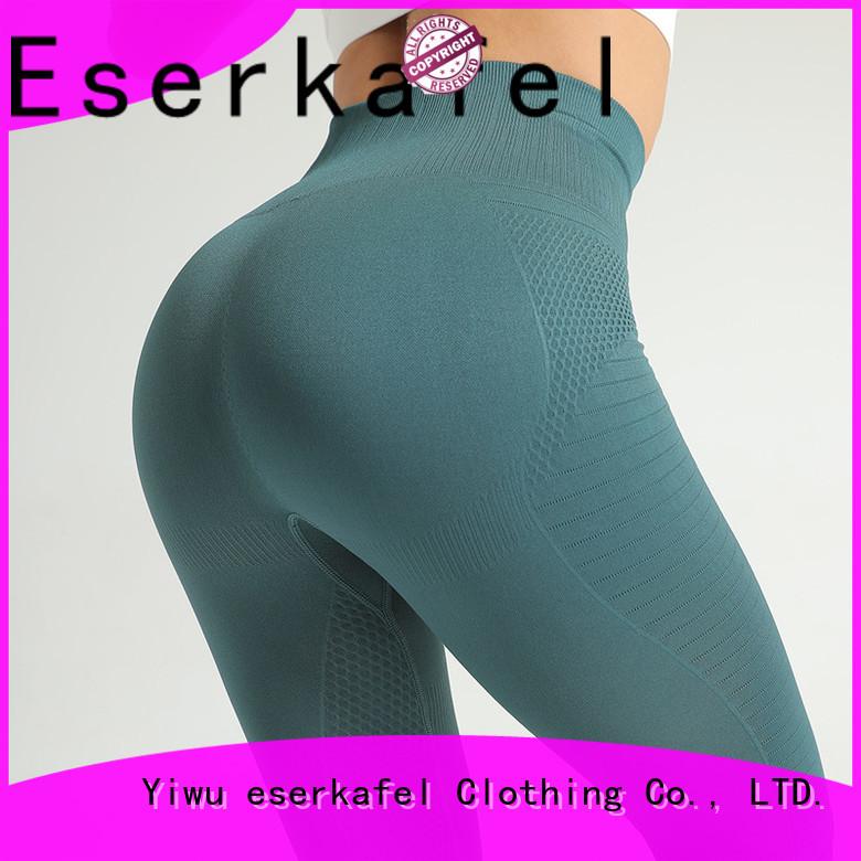 ESERKAFEL seamless high waisted leggings supplier for female