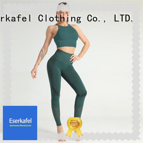 ESERKAFEL womens gym wear manufacturer for female
